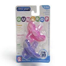 GumDrop Girl Pacifier in Pink / Purple
