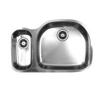 "32.5"" x 20.75"" Double Bowl Undermount Kitchen Sink"