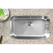"""30.5"""" x 18.5"""" Single Bowl Undermount Kitchen Sink"""