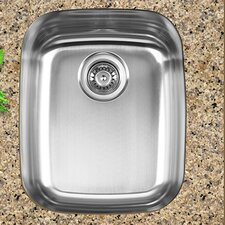 "16.75"" x 20.5"" Dual Mount Single Bowl Kitchen Sink"