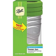 Plastic Freezer Jar