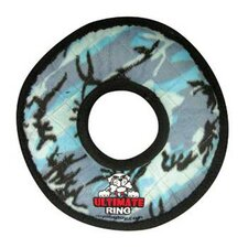 Ultimate Ring Dog Toy in Blue Camouflage