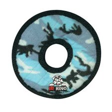 Junior Ring Dog Toy in Camouflage Blue