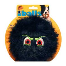 Large Black iBalls Dog Toy