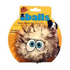 <strong>Tuffy's Pet Products</strong> Medium Brown iBalls Dog Toy
