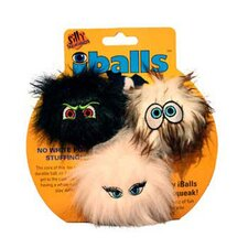 <strong>Tuffy's Pet Products</strong> Small iBalls Dog Toy