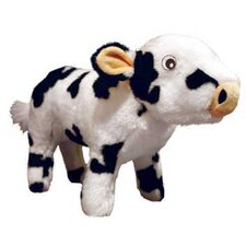 <strong>Tuffy's Pet Products</strong> Cassie Farm Cow Dog Toy