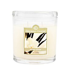 <strong>Colonial Candle</strong> Simply Vanilla Oval Jar Candle