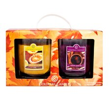 Fall Jar Candle Gift (Set of 2)