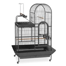 Deluxe Parrot Bird Cage with Play Top