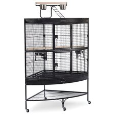 <strong>Prevue Hendryx</strong> Large Bird Cage with Storage Shelf