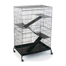 Jumbo Steel Cat/Ferret Cage - 36x24x48