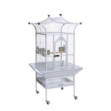 Signature Series Small Royalty Wrought Iron Bird Cage
