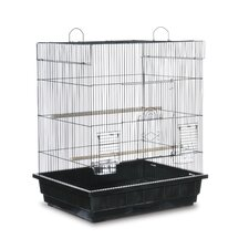 Square Top Parakeet Cage