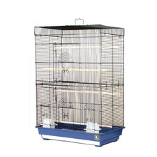 Flight  Bird Cage with 4 Wood Perches