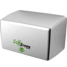 Ecostorm Touchless High Speed 110/120 Volt Hand Dryer in Bright Stainless Steel
