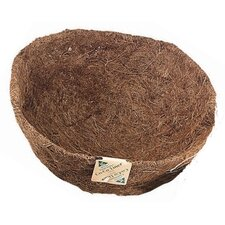 <strong>World Source Partners</strong> Round Coco Fiber Hanging Planter Liner