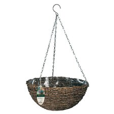 <strong>World Source Partners</strong> Natural Round Hanging Planter