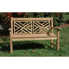 <strong>Regal Teak</strong> Teak Chippendale Garden Bench