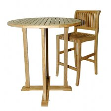 <strong>Regal Teak</strong> Pub Table with Optional Stools
