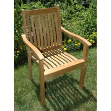 Tisbury Stacking Arm Chair