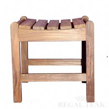 Teak Single Foot Stool