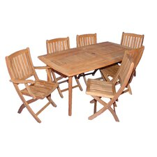 <strong>Regal Teak</strong> Teak San Marco Dining Set