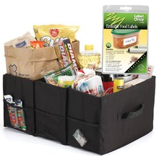 Cargo Tote Erasable Food and Labels Starter Kit