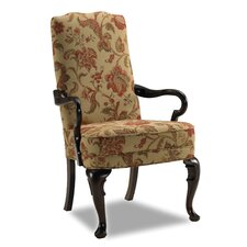 Adams Exposed Fabric Arm Chair