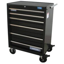 "Pro Rolling 27"" Wide 6 Drawer Bottom Cabinet"