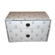 <strong>Luxury Living</strong> Lite-it-Up Storage Box