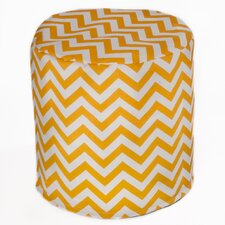 Chevron Bean Bag Cylinder