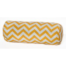 Chevron Bolster Outdoor Pillow