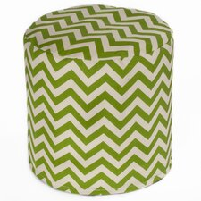 Indoor / Outdoor Bean Bag Cylinder Ottoman