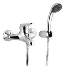 <strong>Remer by Nameek's</strong> Wall Mounted Tub Filler Trim with Hand Shower