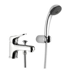 <strong>Remer by Nameek's</strong> Deck Mounted Tub Filler Trim with Hand Shower