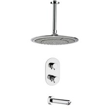 Peleo Thermostatic Tub and Shower Faucet