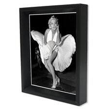 Marilyn Monroe Memorabilia Shadow Box