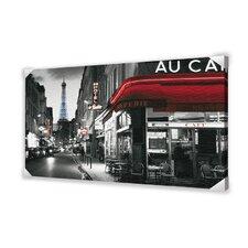 Rue Parisienne Photographic Print on Canvas