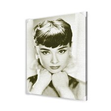 Audrey Hepburn Memorabilia on Canvas