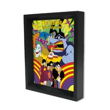 Beatles Submarine Shadow Box