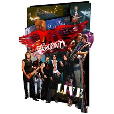 <strong>Ace Framing</strong> Framed 3D Aerosmith Poster