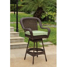 Key West Wicker Barstool