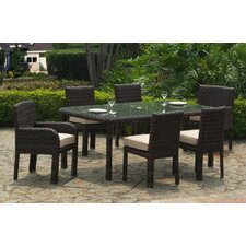 Saint Tropez 7 Piece Dining Set