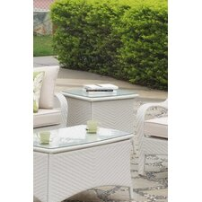 Bahia Wicker End Table