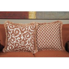 Pillow Talk Apricot Acrylic Accent Pillow