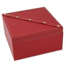 2 Level Studded Jewelry Box