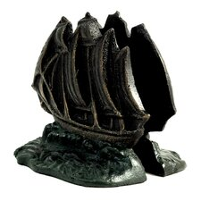 <strong>Bey-Berk</strong> Sailboat Book Ends (Set of 2)