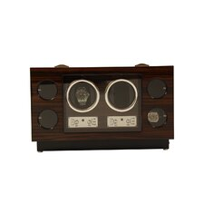 <strong>Bey-Berk</strong> 2 Watch Winder and Storage Case
