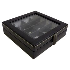 20 Pocket Cufflink Box